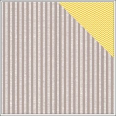 American Crafts Paper Oh Happy Grey by Amy Tangerine