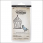 Sizzix Tim Holtz Alterations Movers and Shapers Magnetic Dies Mini Bird and Cage Set