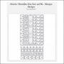 Sizzix Tim Holtz Alterations Die Thinlits Shape Strips