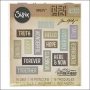 Sizzix Tim Holtz Alterations Die Thinlits Friendship Words Block