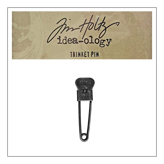 Idea-ology Tim Holtz Metal Trinket Pin Thoughts 17