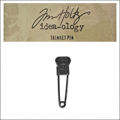 Idea-ology Tim Holtz Metal Trinket Pin Fragile 67