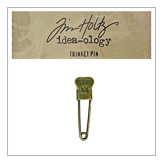 Idea-ology Tim Holtz Metal Trinket Pin Treasure 54