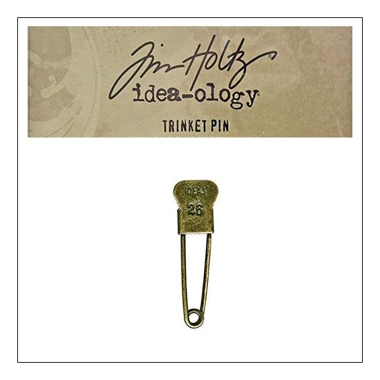 Idea-ology Tim Holtz Metal Trinket Pin Ideas 26