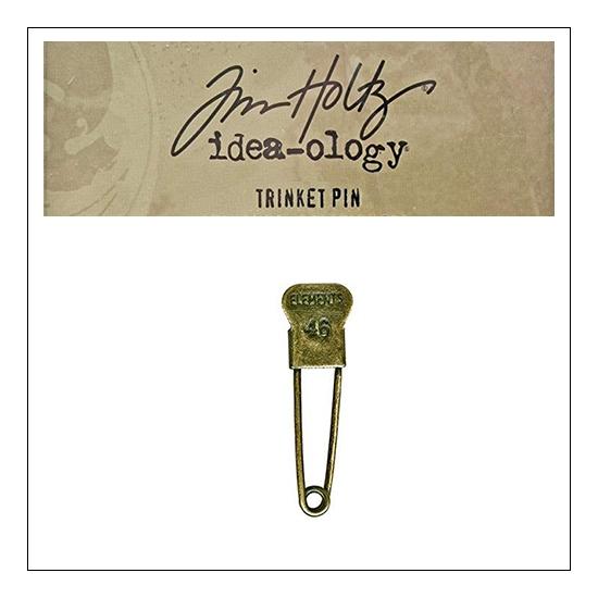 Idea-ology Tim Holtz Metal Trinket Pin Elements 46