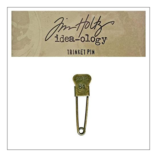 Idea-ology Tim Holtz Metal Trinket Pin Stuff 84