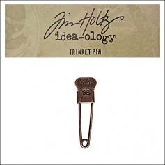 Idea-ology Tim Holtz Metal Trinket Pin Vintage 98