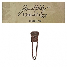 Idea-ology Tim Holtz Metal Trinket Pin Keepsake 47