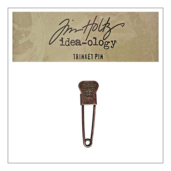 Idea-ology Tim Holtz Metal Trinket Pin Tidbits 32