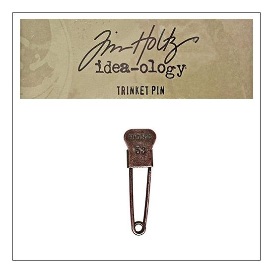 Idea-ology Tim Holtz Metal Trinket Pin Findings 53
