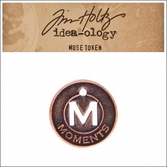 Idea-ology Tim Holtz Metal Muse Token Moments