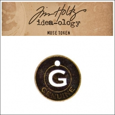 Idea-ology Tim Holtz Metal Muse Token Genuine