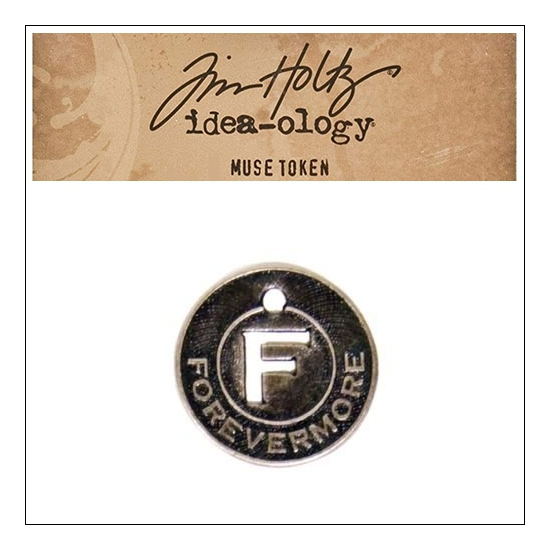 Idea-ology Tim Holtz Metal Muse Token Forevermore