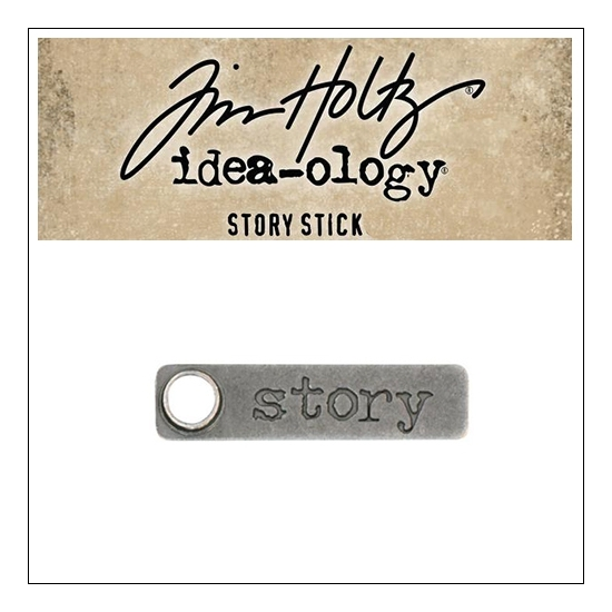 Idea-ology Tim Holtz Metal Story Stick Story