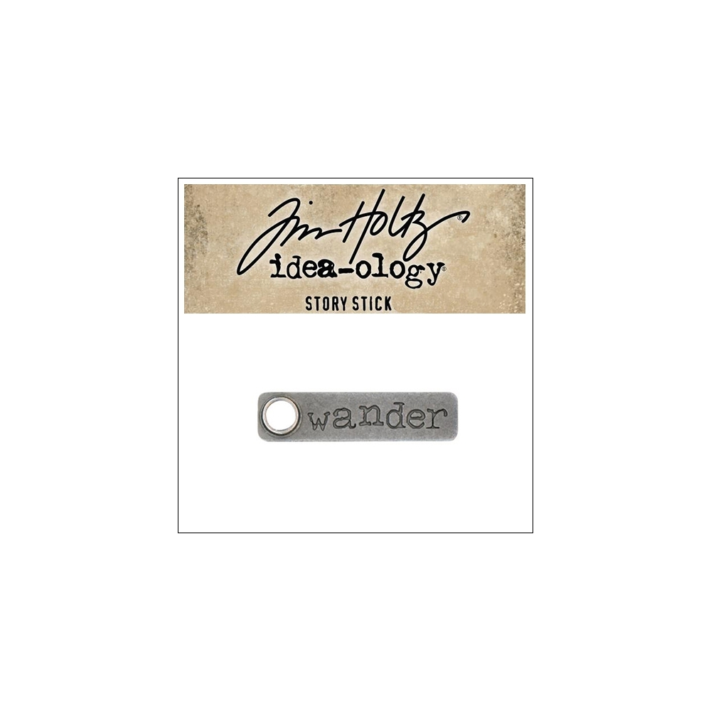 Idea-ology Tim Holtz Metal Story Stick Wander