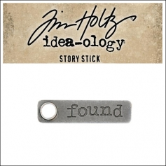 Idea-ology Tim Holtz Metal Story Stick Found