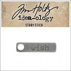Idea-ology Tim Holtz Metal Story Stick Wish