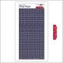 Cosmo Cricket Cardstock Alphabet Stickers Tiny Type Blue