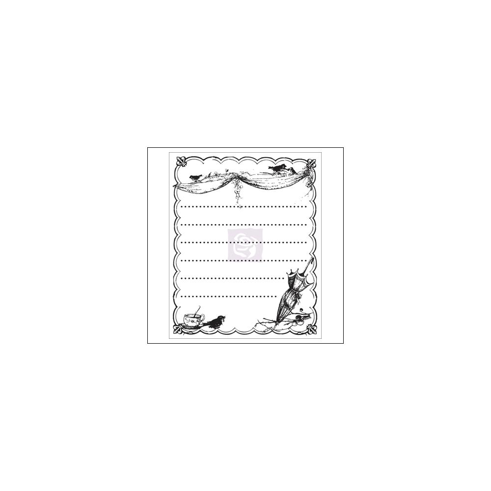 Prima Marketing Mini Clear Stamp Pixie Glen