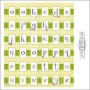 Authentique Cardstock Stickers Sheet Classic Type