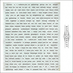 Authentique Cardstock Stickers Sheet Diction