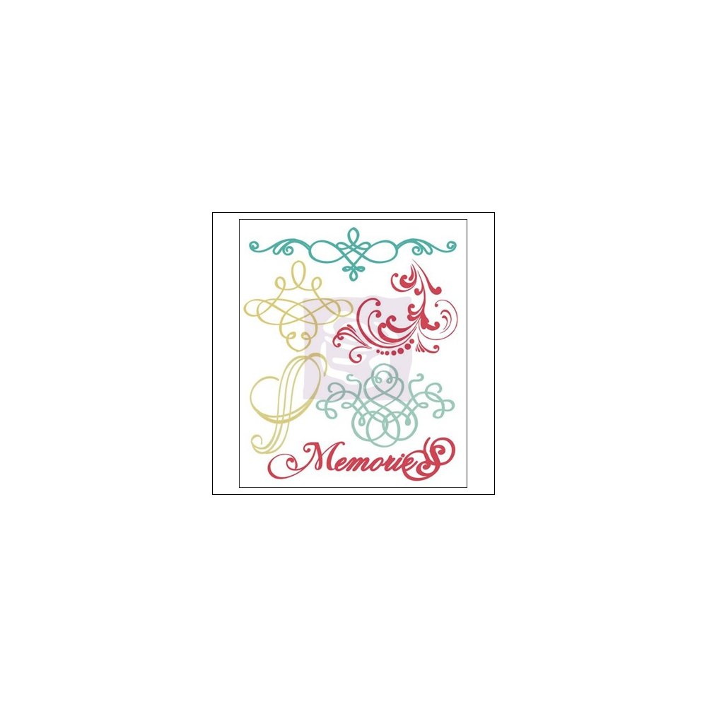 Prima Marketing Mini Clear Stamps Annalee