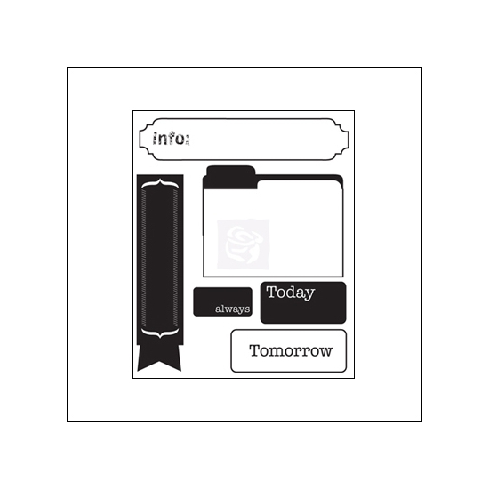 Prima Marketing Mini Clear Stamps Engraver