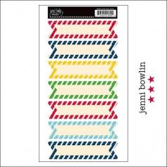 Jenni Bowlin Cardstock Stickers Candy Stripe