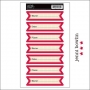 Jenni Bowlin Cardstock Stickers Name, Place, Date