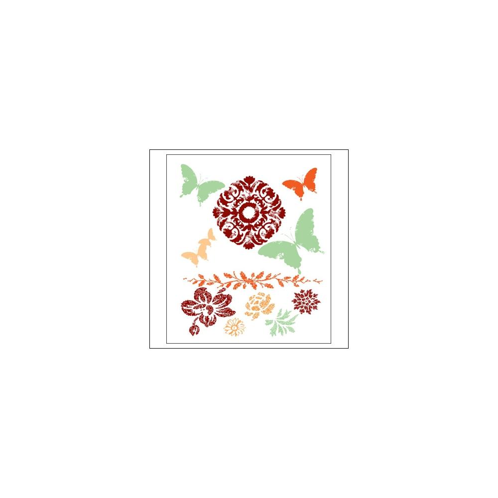 Prima Marketing Mini Clear Stamps Fairy Flora
