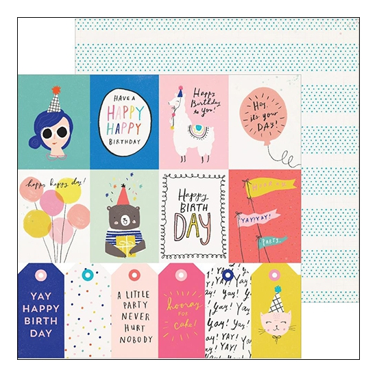 Crate Paper Cardstock Double Sided Paper Sheet For You Hooray Collection