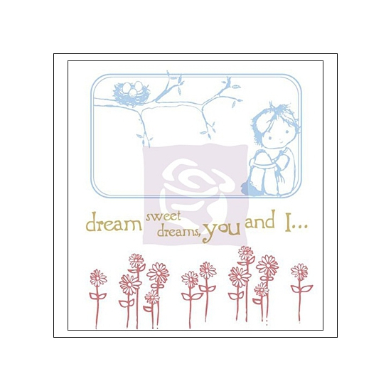 Prima Marketing Mini Clear Stamps Jack and Jill