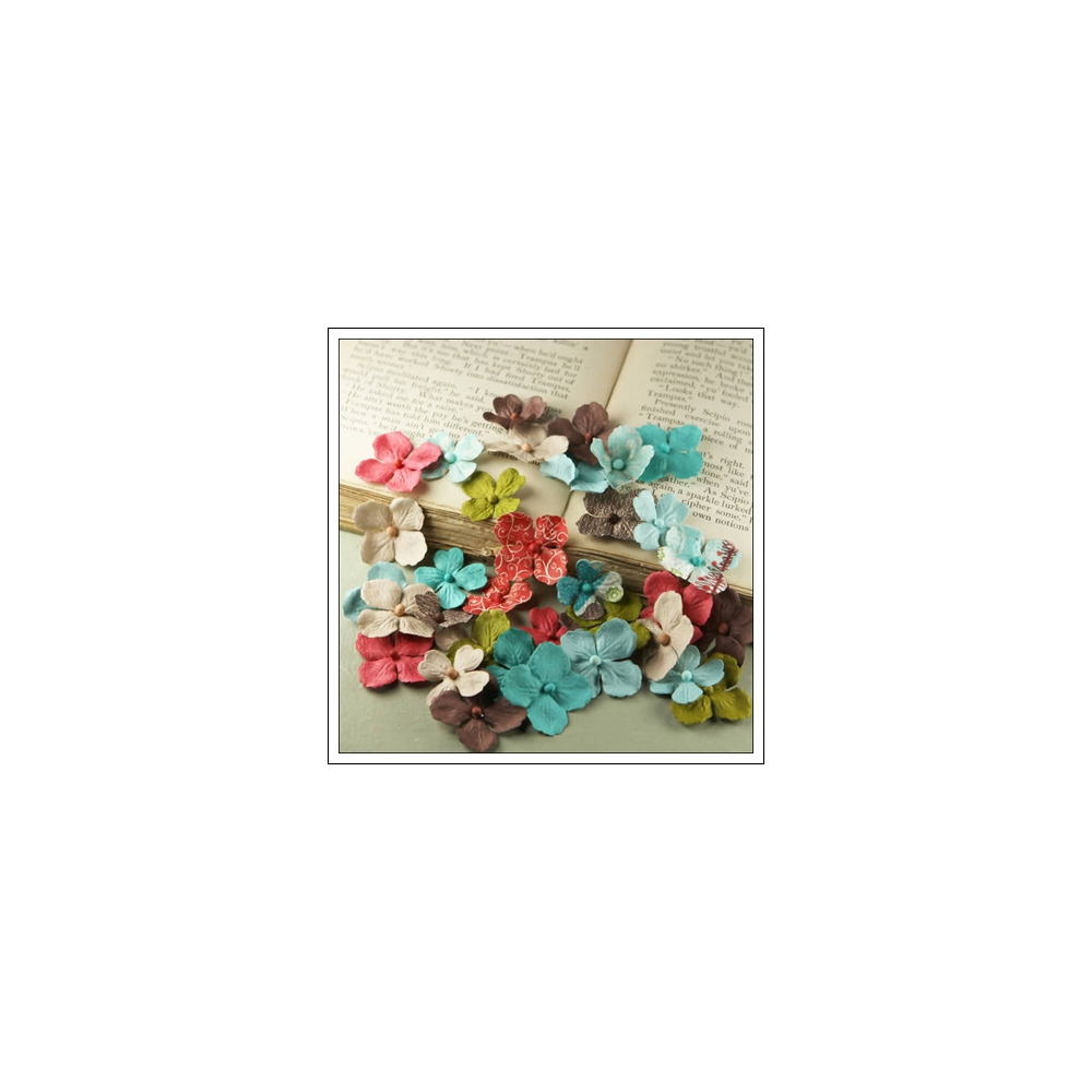 Prima Marketing Mulberry Paper Flowers Flower Market North Country Collection