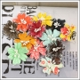 Prima Marketing Mulberry Paper Flowers Lucerne Doodle Deux Collection