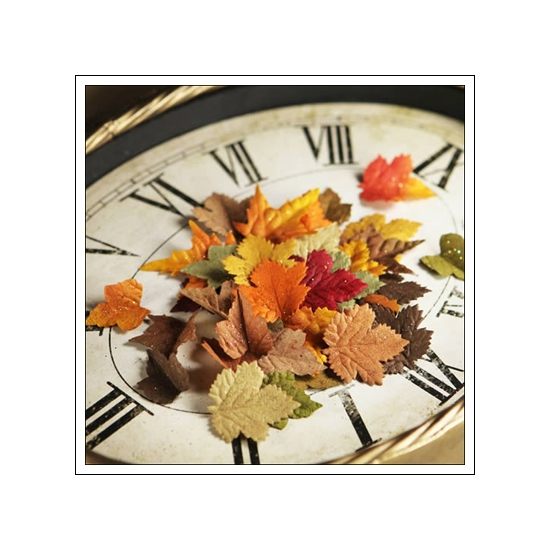 Prima Marketing Mulberry Paper Leaves Splendor Fall Mix