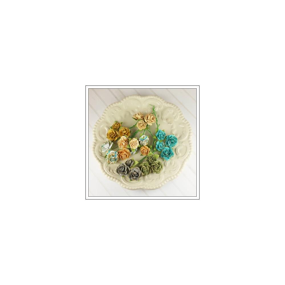 Prima Marketing Mulberry Paper Mini Avon Roses Alla Prima Collection
