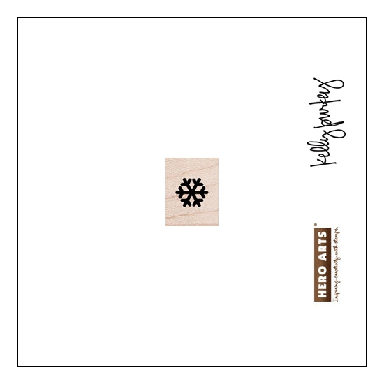 Hero Arts Kellys Planner Icon Wood Block Rubber Stamp Clearly Kelly Collection by Kelly Purkey