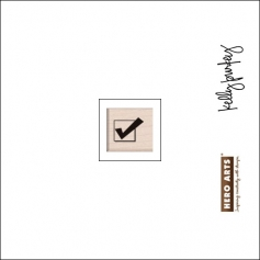 Hero Arts Kellys Best Day Ever Wood Block Rubber Stamp Clearly Kelly Collection by Kelly Purkey