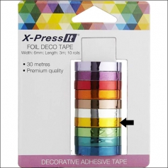 X Press It Deco Tape Roll Foil