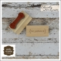 Unity Stamp Company Wood Mounted Red Rubber Stamp Passionate by Christy Tomlinson