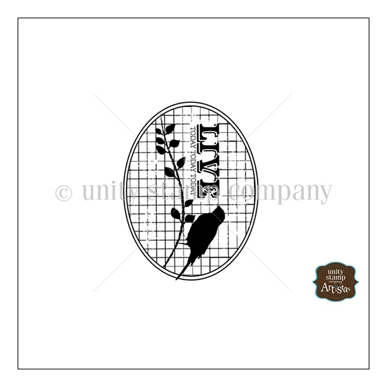 Unity Stamp Company Itty Bitty Red Rubber Stamp Mounted On Cling Foam Live Today