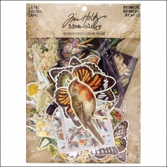 Idea-ology Advantus Layers Die Cuts Pack Botanical by Tim Holtz