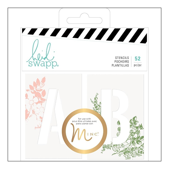 Heidi Swapp Stencils Emerson Lane Collection
