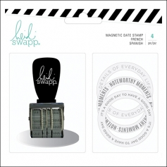 Heidi Swapp Magnetic Date Rotary Stamp Memory Planner Fresh Collection