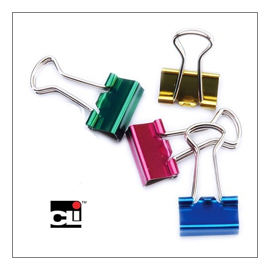 CLI Metallic Assorted Small Clips