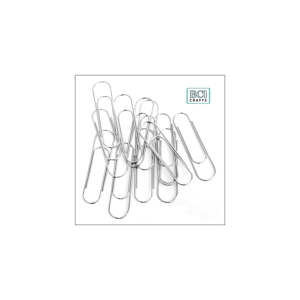 BCI Crafts Jumbo Paper Clip Silver