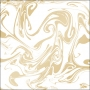 Pink Paislee Specialty Vellum Paper Marble Gold Foil Accents Moonstruck Collection
