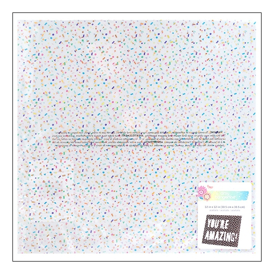 American Crafts Specialty Paper Acetate Speckled Holographic Sunshine and Good Times Collection by Amy Tangerine