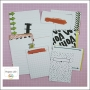 American Crafts Project Life Core Kit 3 x 4-inch Cards Project 52 Rad Edition Collection by Emily Merritt