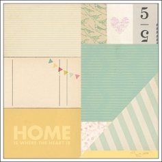 American Crafts Paper Sweet Street 5th and Frolic Collection by Dear Lizzy